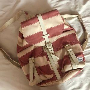Pinstriped Herschel Dawson Backpack